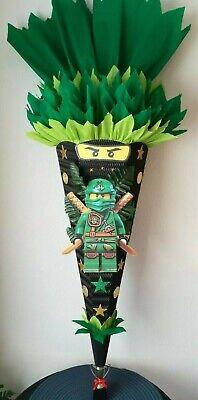 Schultüte Zuckertüte für Jungs Ninja Ninjago 3D Bastelset