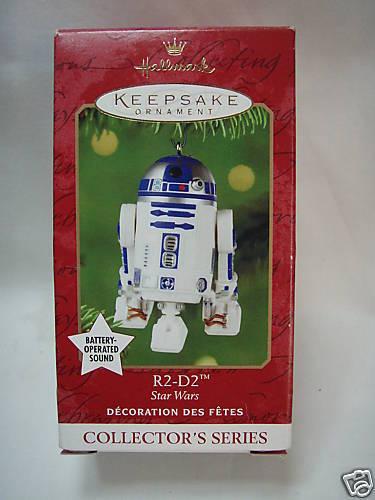 2001 HALLMARK Star Wars R2-D2 Magic Sound