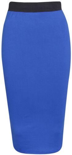 Hot Latest midi skirt pencil bodycon slim stretchy skirts 6-18 wiggleL Sale