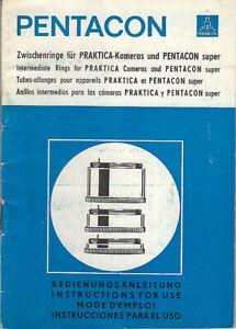 Pentacon-Bedienungsanleitung-Zwischenringe-su