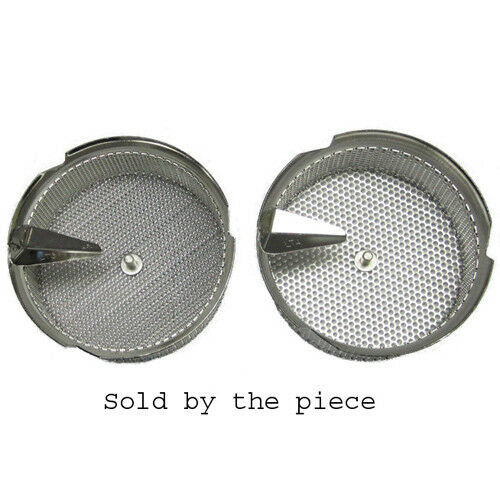 L. Tellier Replacement Grid Grill Sieve, Stainless Steel, For X5 8-Qt Mouli Mill