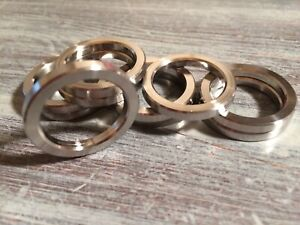 """7075 ALUMINUM SPACERS WASHERS LIGHTENED 3//4/"""" LONG 5//8/"""" DIA 1//4/"""" HOLE LOT OF 10"""