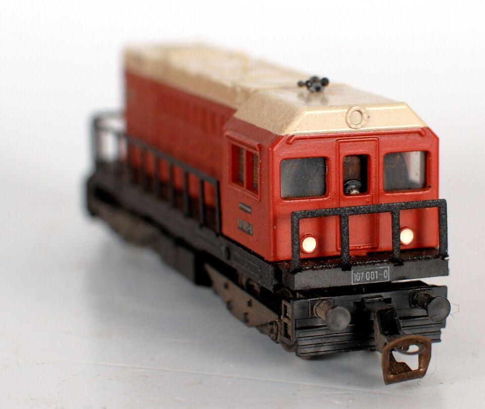 Modeltog, Berliner TT Bahnen 107 001-0, skala TT