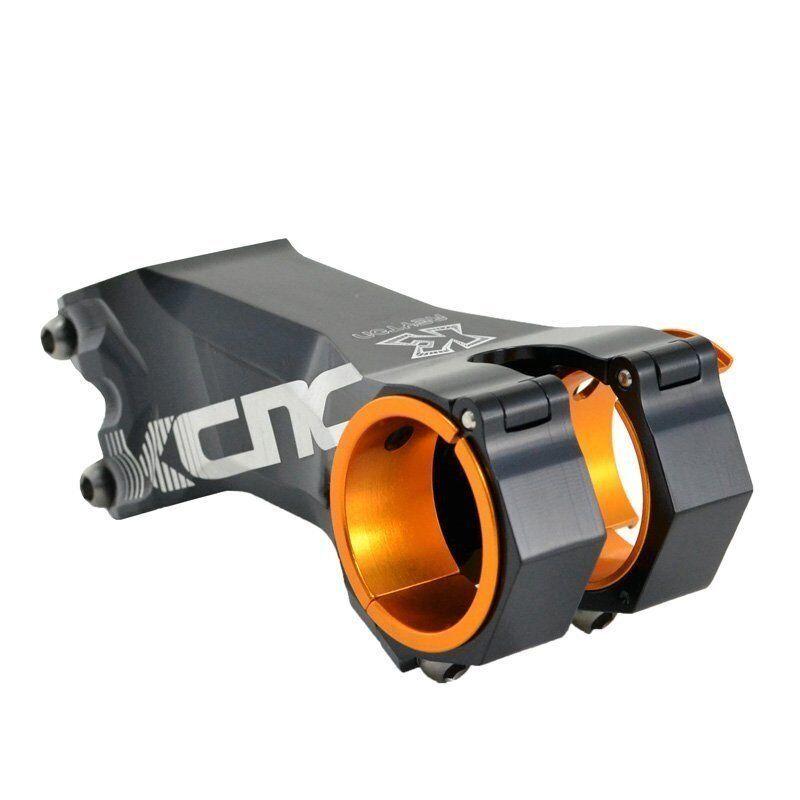 KCNC REYTON Mountain Bike ± 25 grado vástago 31.8mm 35mm en diferentes longitudes, Negro