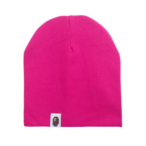 Unisex Cotton Beanie Hat For Newborn Kid Baby Boy Girl Soft Toddler Infant Cap