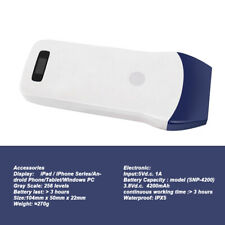 75mhz Ultrasound Scanner Color Doppler Probe For Usbwireless Handheld Linear