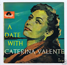 "25 CM 10 ""LP A DATE WITH CATERINA VALENTE (AUSTRALIA)"