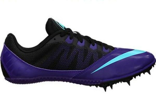 f24ebb39059 Nike Zoom Rival S 7 Womens Track   Field Spikes Sprint Running Shoes Purple  9 for sale online