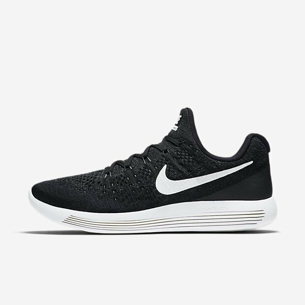 NIKE LUNAREPIC LOW FLYKNIT 2 MEN'S RUNNING SHOE Black Anthracite 863779-001 10'