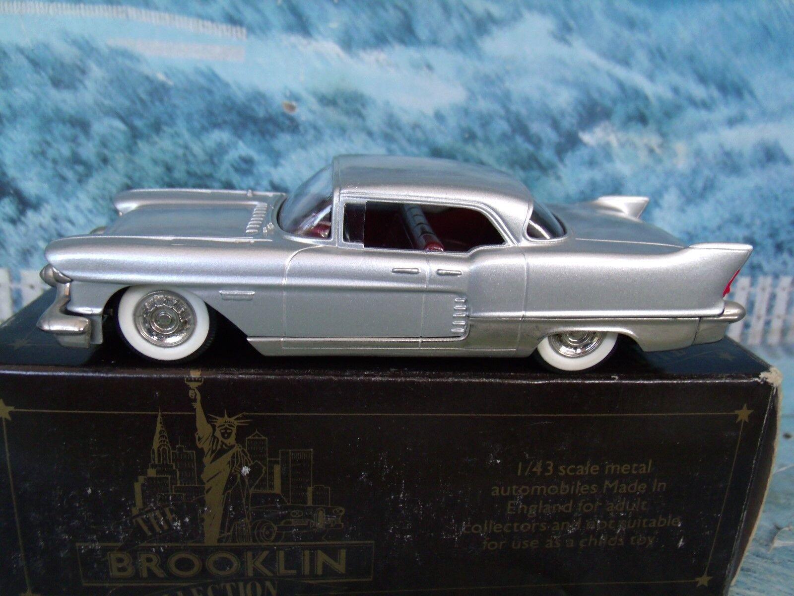 1/43 Brooklin models  BRK.27 1957 CADILLAC Eldorado Brougham bianca metal
