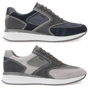 Geox Herensneaker stof C4422 Dennie Summer U740ga C9031 Suède A 02211 wkX8NOPZ0n