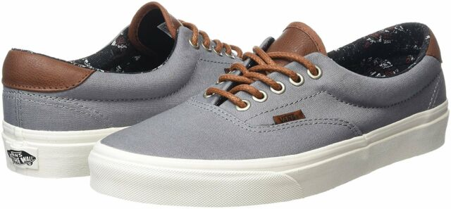 221771af3b Vans ERA 59 Frost Gray White Samurai Warrior Men Casual Shoes SIZE 8   8.5
