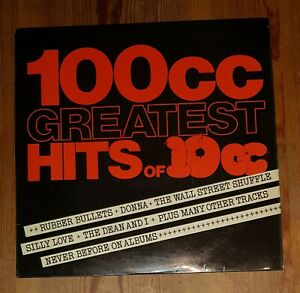 100cc-Greatest-Hits-Of-10cc-Vinyl-LP-Comp-33rpm-1975-UK-Records-UKAL-1012
