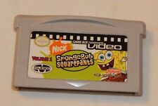 Nintendo Game Boy Advance Sponge Bob Square Pants video FREE SHIPPING