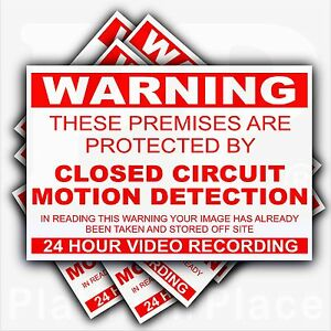 6-x-Premises-Protected-by-CCTV-MOTION-DETECTION-Warning-Stickers-Security-Signs