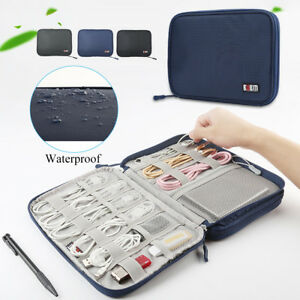 Sac-Organisateur-De-Rangement-USB-Cable-Donnees-Chargeurs-ecouteur-Voyage-Etanch