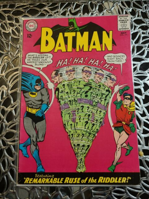 Batman #171 (May 1965, DC). 1st silver age Riddler appearance Fine - (5.5)