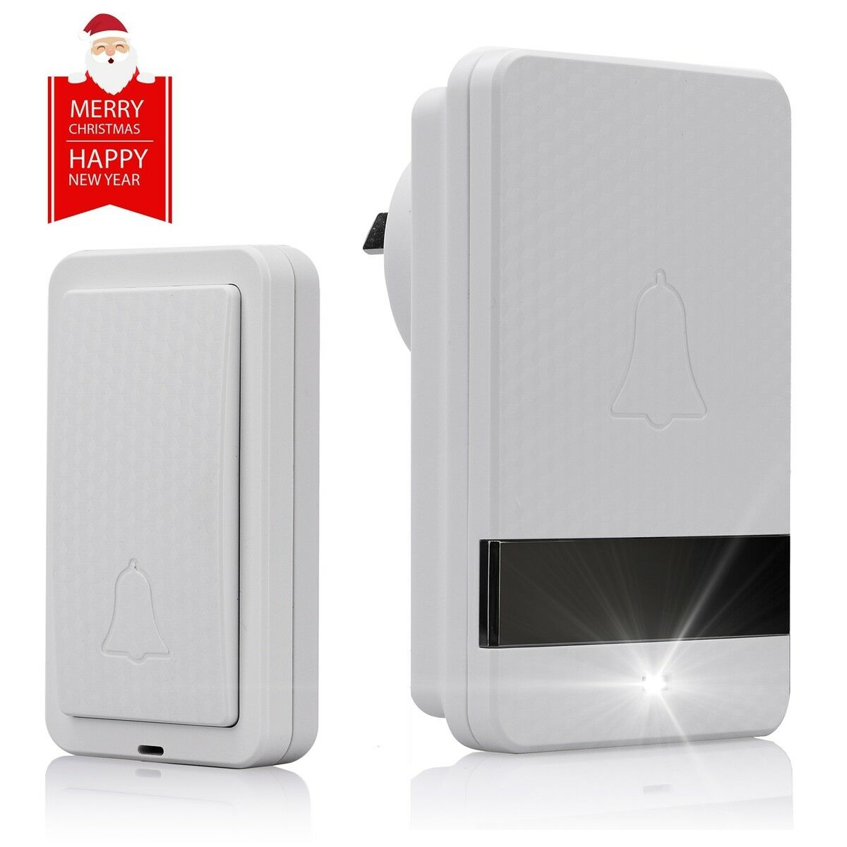 Self-Powered Wireless Doorbell Kit No Battery Required, For Home, Hospital Use