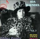 Ida Haendel, Vol. 3 (CD, Aug-2006, Doremi Records)
