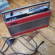 Roberts Radio TVS1 Hard To Find Wireless for Blind UHF TV Sound Receiver Red