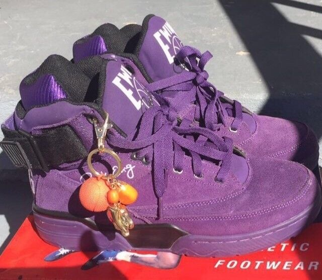 Mens purple patrick ewing size 9