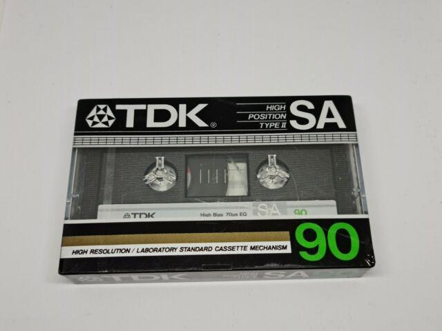 TDK SA 90 Cassette Tape (Sealed)