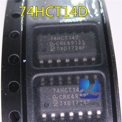 10pcs 74HCT14D SOP new