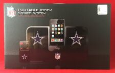 iHip Official NFL Dallas Cowboys Portable iDOCK Stereo System w/Wireless Remote