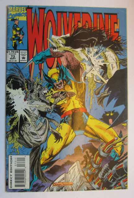 # 73 1993 WOLVERINE COMIC -  combined shipping