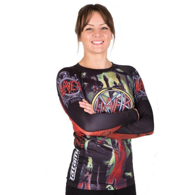 BJJ MMA Womens Tatami LADIES DRAGON FLY V2 RASH GUARD