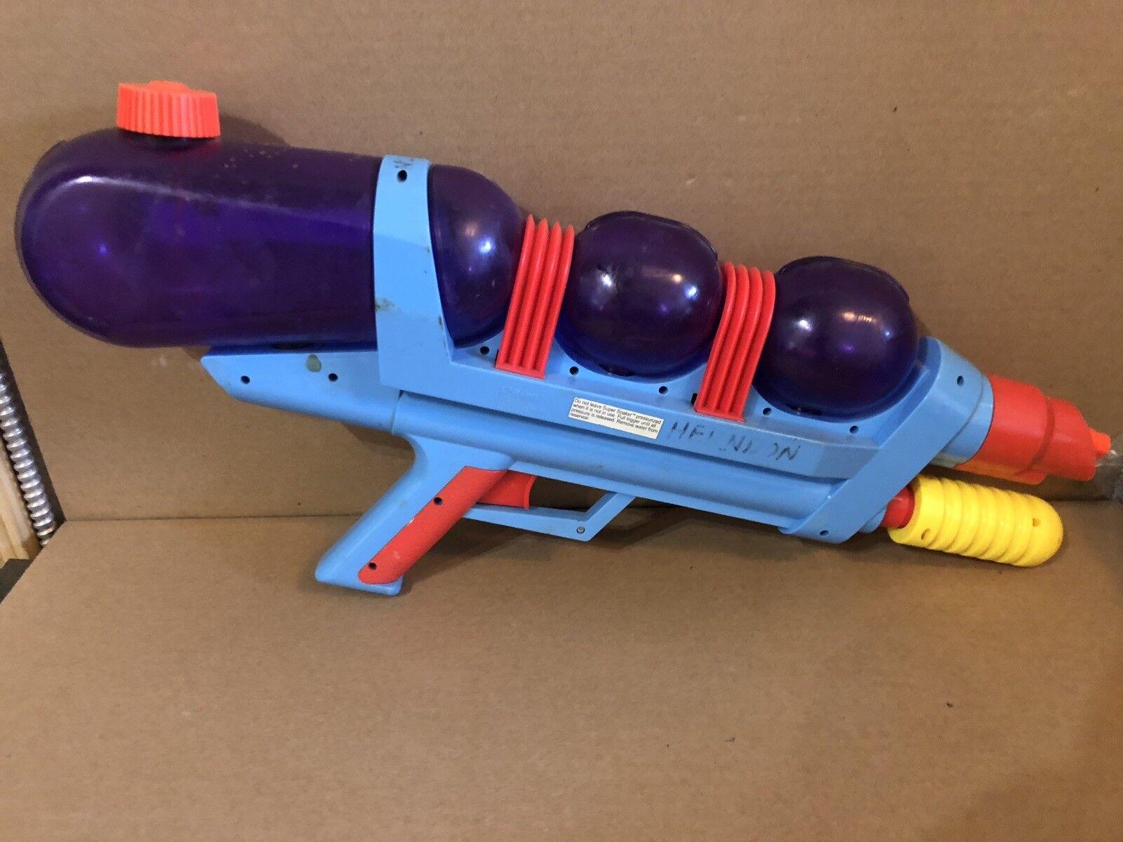 Vintage 90s Larami Larami Larami Super Soaker XP 110 Xtra Power Water Gun Squirt Toy 9711-0 75c4e6