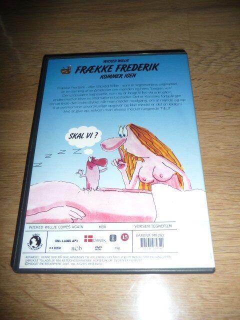 Frække Frederik kommer igen, DVD, andet