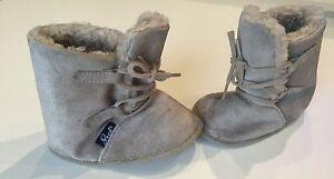 competitive price e4c47 e2079 Details zu Jacob's Babystiefel Winter Fell Stiefel Leder hellbraun Größe 19  Jacobs NEU