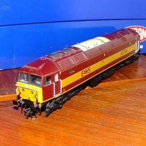 Heljan-4650-OO-Gauge-Class-47-diesel-locomotive-in-EWS-Livery-039-47-744-039