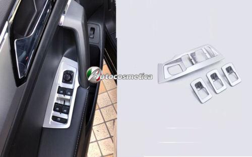 Modanature pulsanti alzavetri in abs satinato  Volkswagen TIGUAN 16