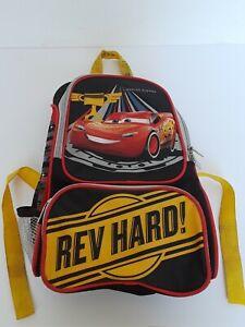 DISNEY-CAR-PIXAR-LIGHTENING-MCQUEEN-BOY-KIDS-CHILD-PRESCHOOL-SCHOOL-BACKPACK-BAG