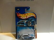 2003 Hot Wheels #104 Silver Ford Focus w/5 Spoke Wheels