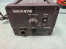 Hakko 472 1 Model 472 Iron Soldering Desoldering Rework Station