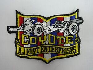 Coyote-A-J-Foyt-Enterprises-Collector-Emblem-Iron-on-Patch