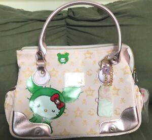 be1d9896ef RARE With Tags Sanrio Hello Kitty Tokidoki Pink Large Bag Sandy Cactus