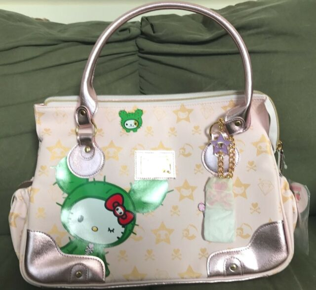 ed292b660 Tokidoki x Hello Kitty Boston Sandy Bag ~ New Handbag ~ Large Pink ~ Lt Ed