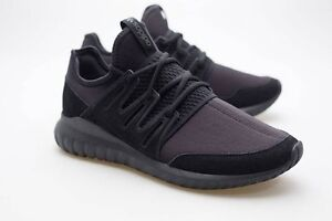 online store d44b9 31cee Details about Adidas Men Tubular Radial black core black dark grey S80115