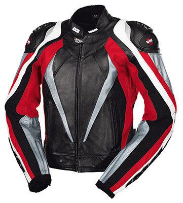 "Cycling Ixs Leather Jacket "" Corbin "" Men's 46 Men's 1a Nappa Leather"