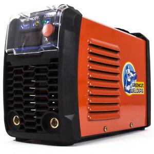 Saldatrice Inverter DC MMA-200Amp iGBT turbo ventilata schermo LCD -Greencut
