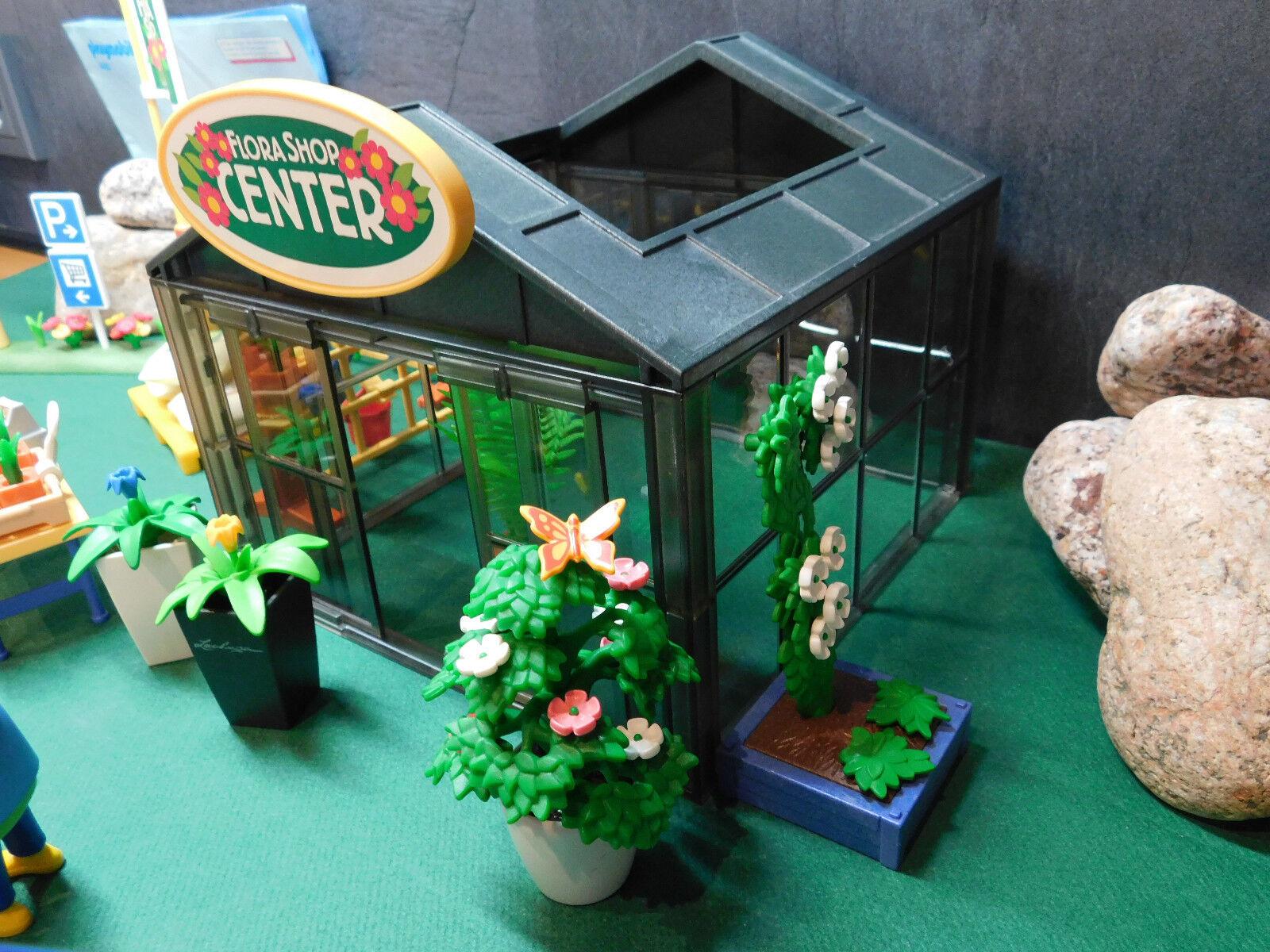 Playmobil Playmobil Playmobil Gartencenter 4880-A/2005 (BA) u. Cityvan aus 4483-A/2005, ohne OVP cac954
