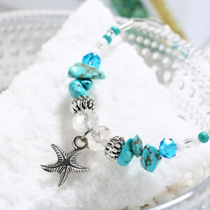 Fashion-Women-Foot-Jewelry-Turquoise-Starfish-Chain-Anklets-Bracelet-Bangle-1Pcs