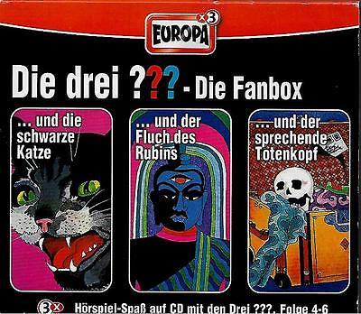 Die drei ??? Fan-Box / Folge 4-6 / 3 CDs / Die drei Fragezeichen