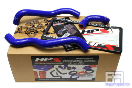 HPS Reinforced Silicone Heater Hose kit For 03-06 350Z 3.5L V6 VQ35de LHD Blue