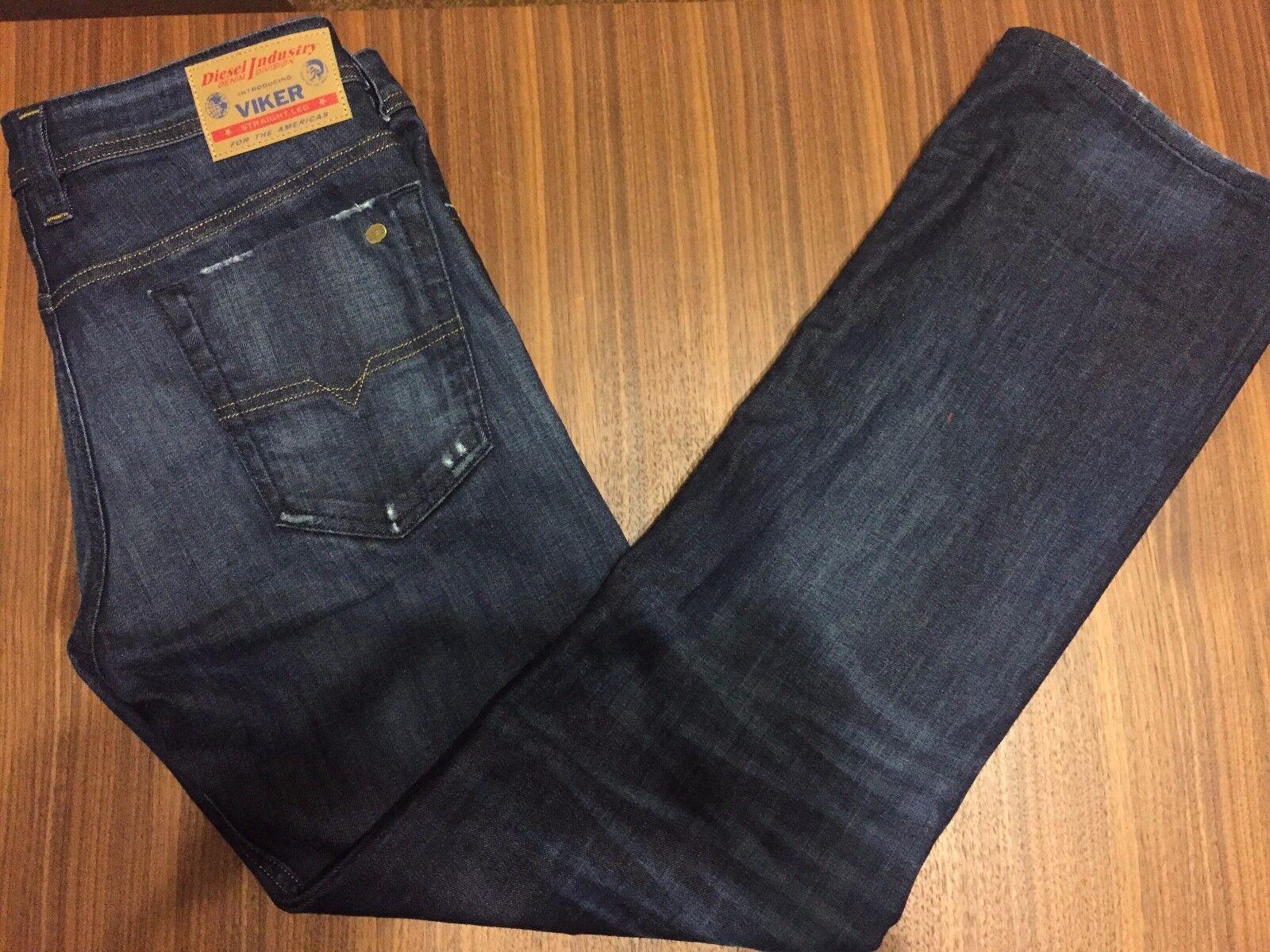 NWT  Diesel Mens VIKER Regular Straight Jeans size 30 x 30  Wash U831Q_STR