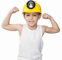 Kids Adjustable Construction Oil Rig Kangaroo Hat Cap Miner Hard Hat Boys Gift